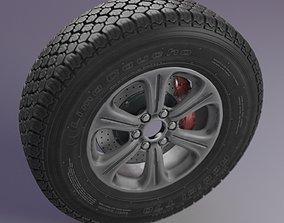 3D Wheel T70 Lima Caucho