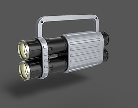 Stormtroopers Multi-frequency spotlight 3D print model 4
