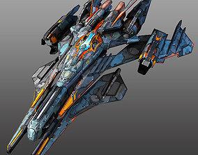 Starfighter 3D asset alien