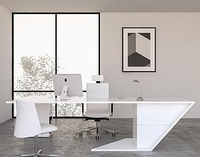Office Desk 09 3D