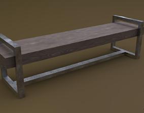 Bench 19 3D model