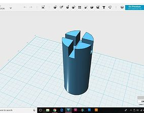 Fishing Rod Butt 3D print model