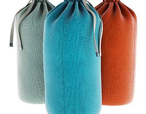 Textile Tie Bag 3D