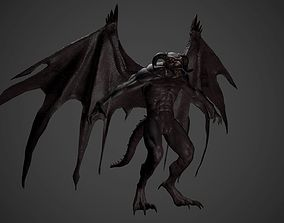 Gargoyle 3D model game-ready