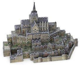 Toy Castle 3D Puzzle - Mont-Saint-Michel