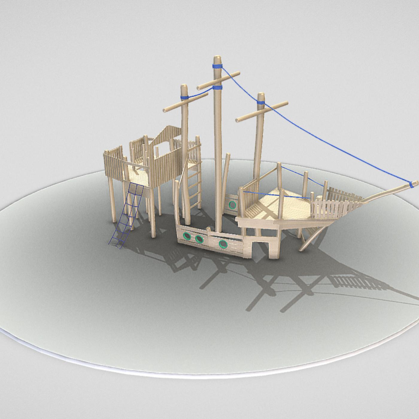 Playground Wood Ship (WIP's)