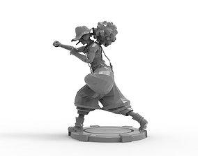 3D print model Usopp - Action Pose