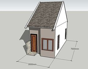 3D Indonesia Type 21 House