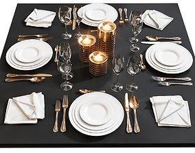 3D Table setting 17