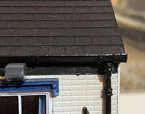 ROOF GUTTER 7MM SCALE O GAUGE MODEL RAIL 2 AND A HALF MM