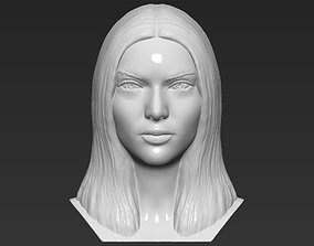 Kendall Jenner bust 3D printing ready stl obj formats