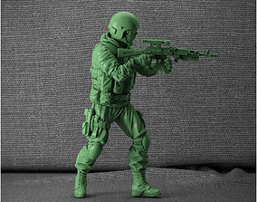 3D print model special forces of the Russian Federation