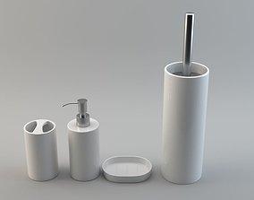 Basic Bathroom Accessories 3D