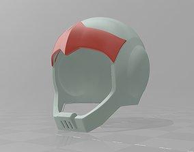 3D print model Gundam Zeon MS driver Helmet