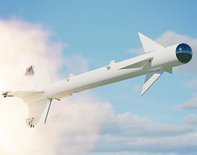 AIM-9B Sidewinder USAF and USN 3D