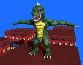 3D model Stylized Lizzie From Rampage