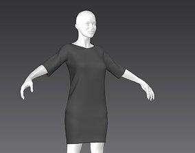 3D model Clothes for Marvelous Designer T-Shirt01 for
