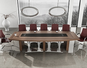 interior 3D model meeting room