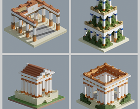 3D model Collection Ancient Pack