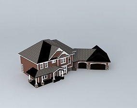 3D Suburban Family Home