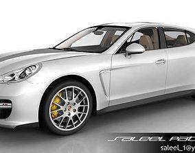 Porsche Panamera GTS 2012 3D model