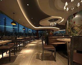 3D Business Restaurant - Coffee - Banquet 202