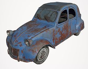 Abandoned Car 10 3D model