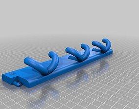 DogCollar Wall Hanger 3D print model