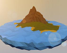 Sunny Island 3D asset