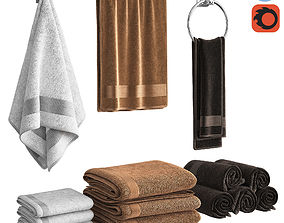 bundle Towels 3D