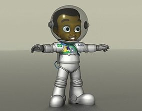3D model Astronaut Boy