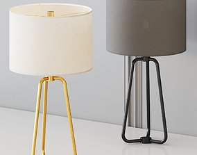 3D Wayfair - Eric Table Lamp