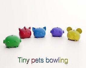 TINY PETS BOWLING- 3D Printed bowling
