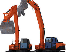 3D excavator collection 4