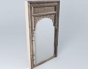 3D model GANDHI mirror houses the world