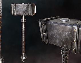 Battle Hammer 3D asset