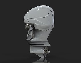 3D High poly Outboard Motor