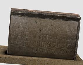 3D Egyptic Sarcophagus historic
