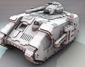 3D print model Terran Aion Battle Tank