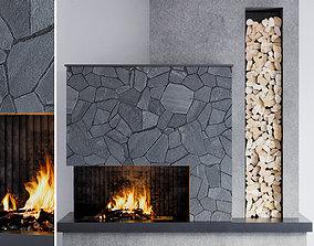 Fireplace 06 3D model