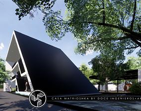 3D model Matrioshka house - Autodesk Revit housing