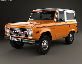Bronco 1975 3D
