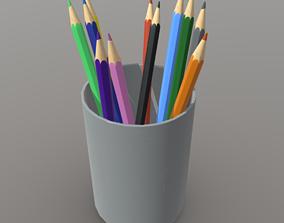 3D model Pencil Holder
