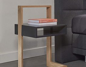 side table 3D asset realtime