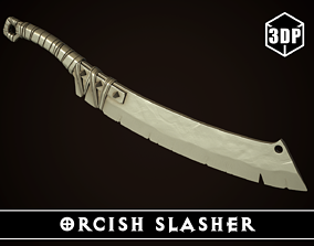 Orcish Slasher 3D printable model