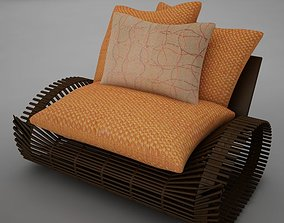 chair modern tropic 3D