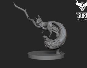 forest 3D printable model Ratatoskr