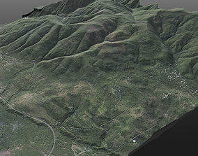 Realistic 8K Very High Detailed Terrain 3D model