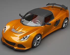 3D Lotus Exige road