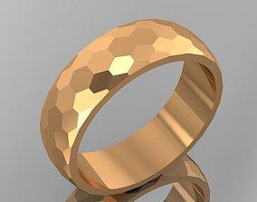 diamond wedding rings 3D print model jewelry
